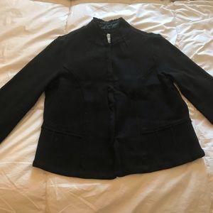 White House Black Market Knit Blazer Cardigan